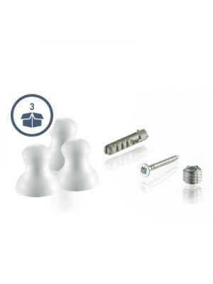 Somfy® Aufhängeknopf für Handsender Telis RTS 3er Pack in der Farbe weiß